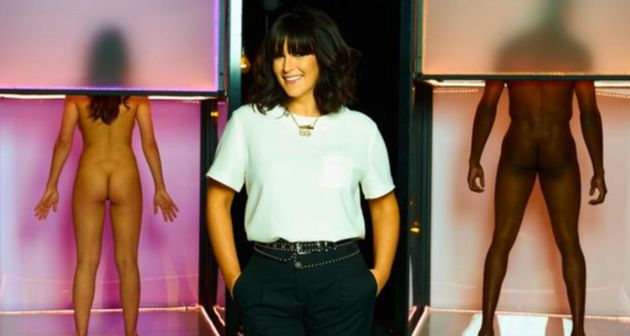 Anna Richardson is the host of Naked
