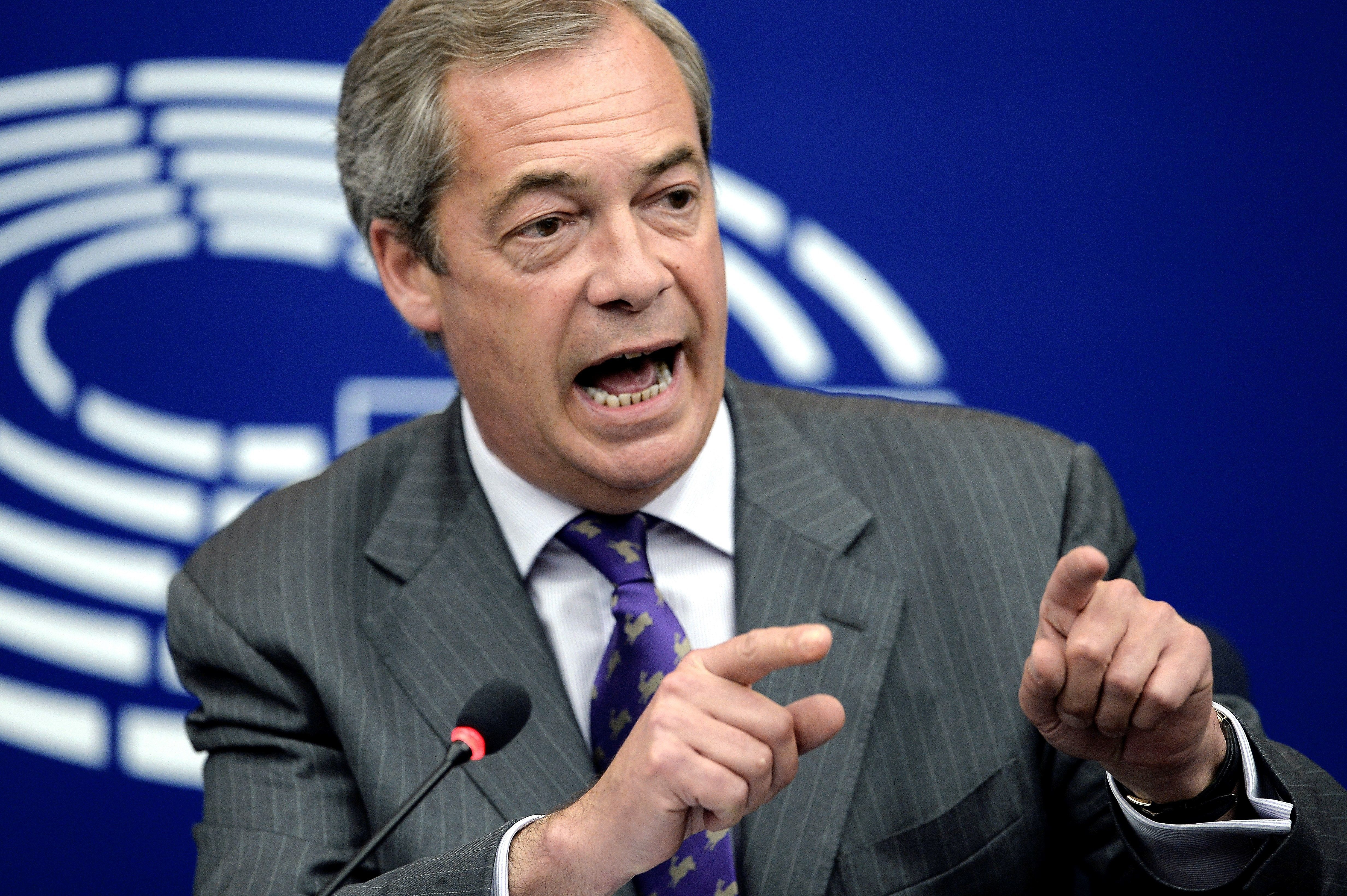 Nigel Farage Sparks Fierce Racism Row With 'Disgusting' Attack On President