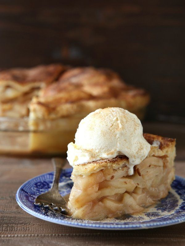 "<strong>Get the <a href=""http://www.completelydelicious.com/2016/09/mile-high-apple-pie.html"" target=""_blank"">Mile High Apple"