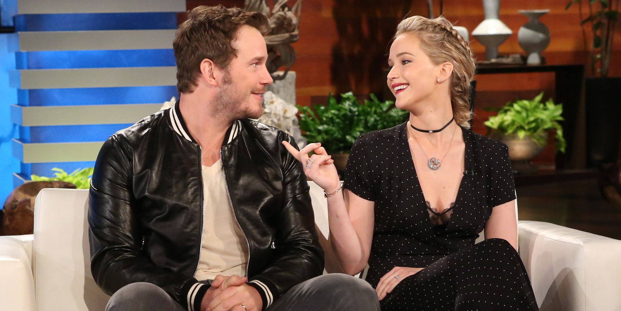 Jennifer Lawrence And Chris Pratt Reveal Their Favorite Body Parts On