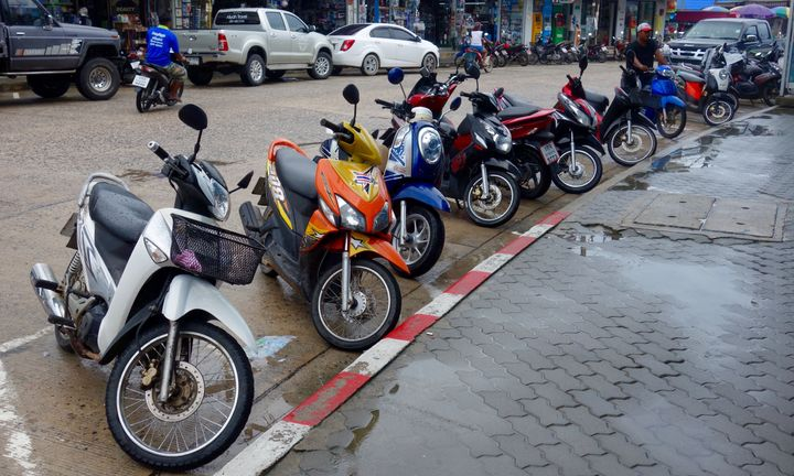 <p>Scooters</p>