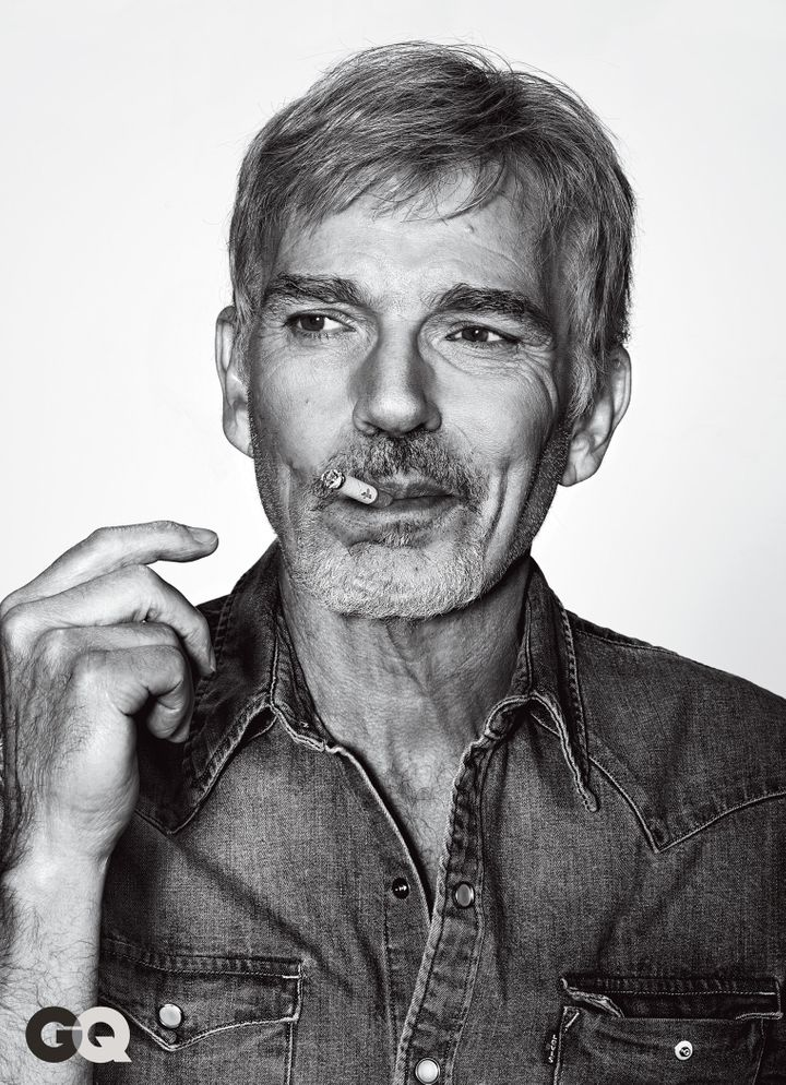 Billy Bob Thornton in the latest issue of GQ.