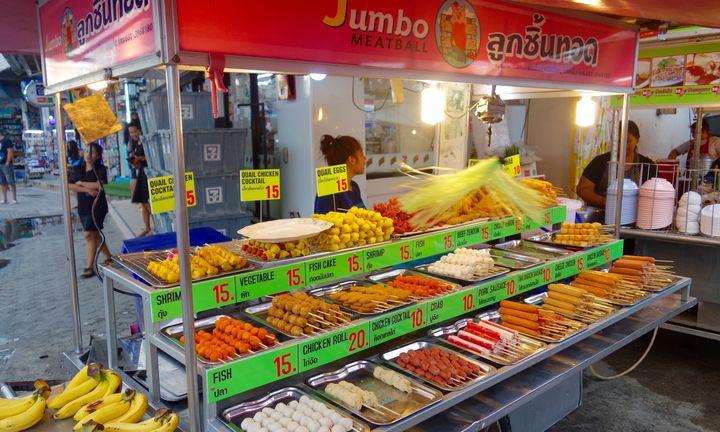 <p>Thai Food Cart</p>