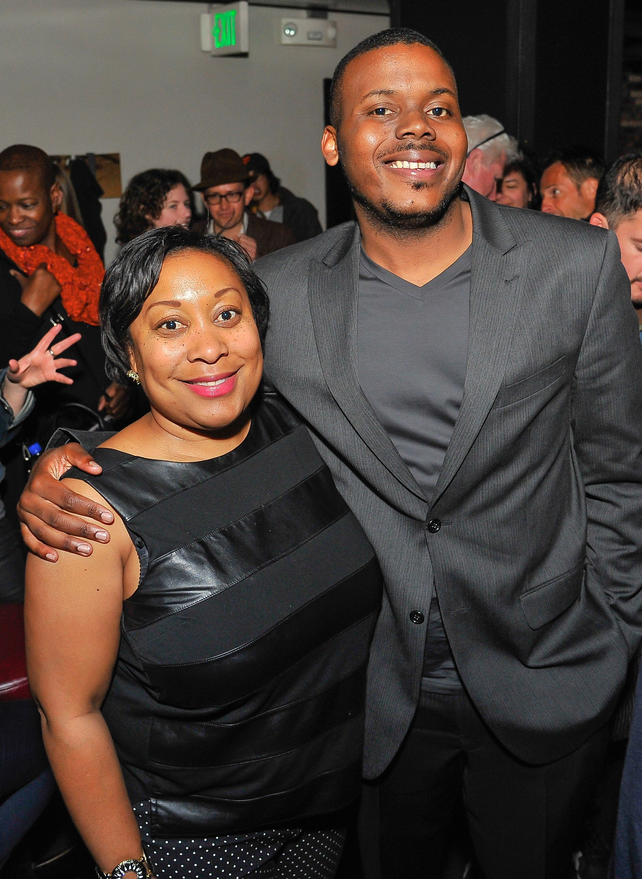 SAN FRANCISCO, CA - APRIL 27: (L-R) Gwyneth Borden, MTA Commission San Francisco and Michael Tubbs, Stockton, CA Council member attend the SFFS screening 'Under The Gun' with Stephanie Soechtig afterparty at Victoria Theatre on April 27, 2016 in San Francisco, California.  (Photo by Steve Jennings/Getty Images for EPIX)