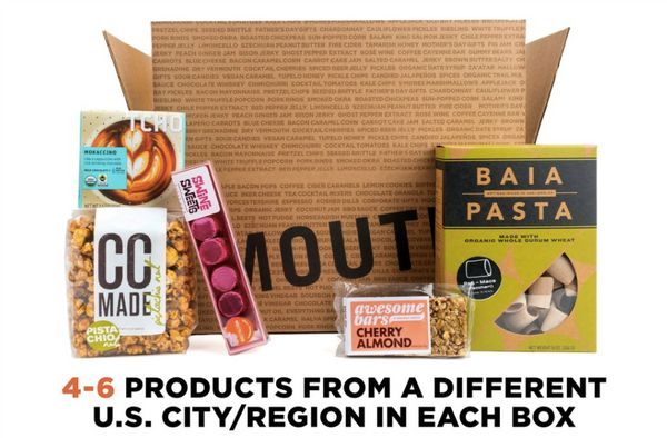 Every month, this delivery system sends out a box of snacks and regional favorites. It's great.<br><br><strong>Givethe