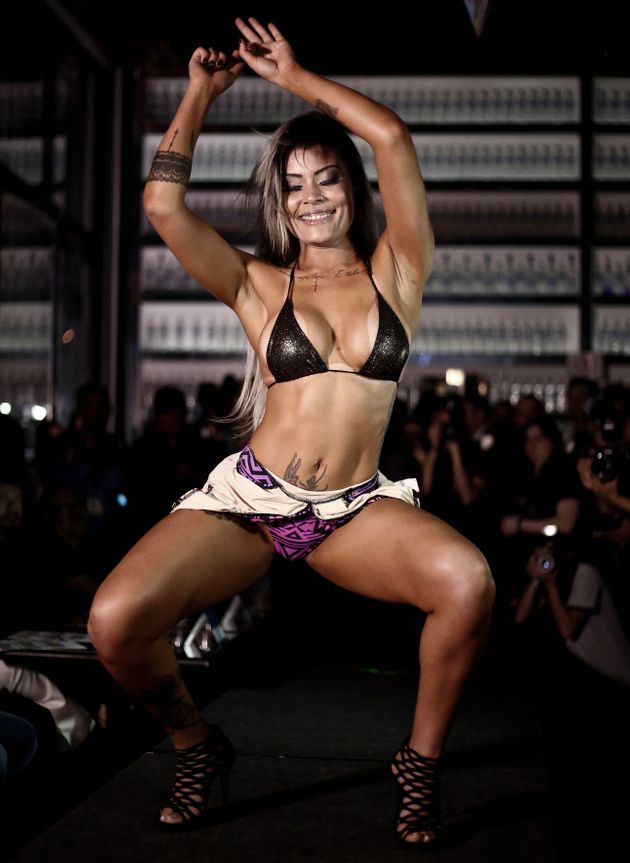 Erika Canela Wins Top Honors In Miss Bumbum Brazil Pageant