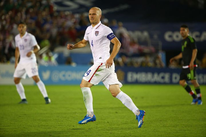 USMNT soccer captain Michael Bradley urged American soccer fans to show respect to Mexican fans when the U.S. and Mexico