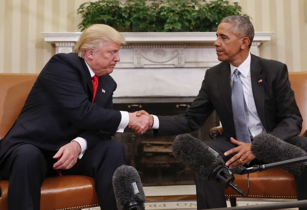 People Were Imagining What It Would Be Like When Donald Trump Met Barack
