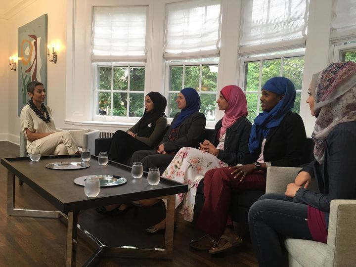 Zainab Salbi talks to Muslim women about their experiences living in Minnesota during an episode of <i>The Zainab Salbi Proje