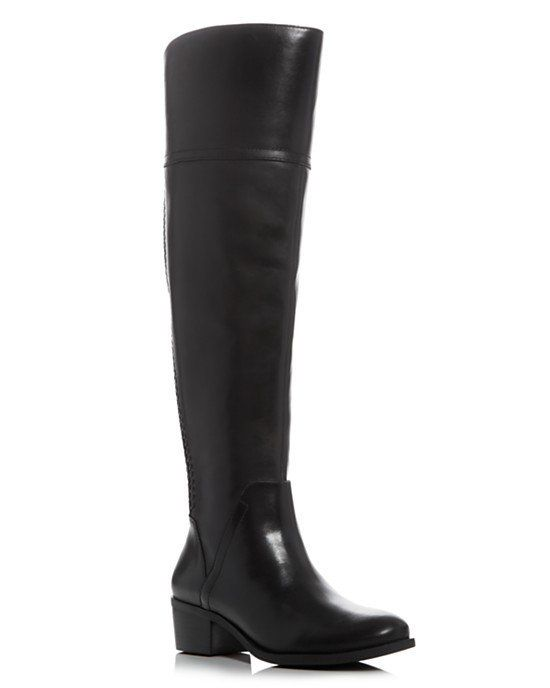 """Vince Camuto <a href=""""http://www1.bloomingdales.com/shop/product/vince-camuto-bendra-whipstitch-wide-calf-tall-boots?ID=18075"""