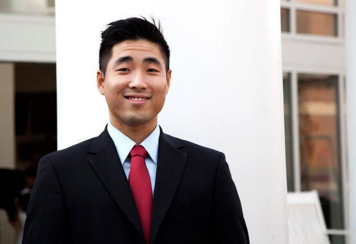Sam Park, who was elected first openly gay man in the Georgia legislature.