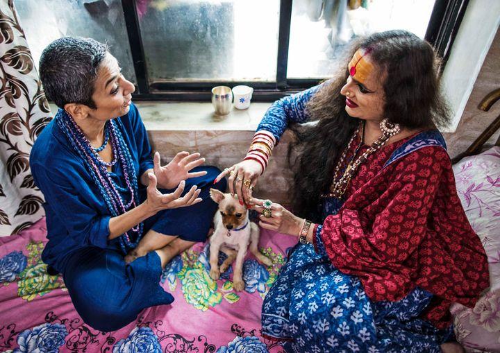 Zainab Salbi talks to Laxmi Narayan Tripathi, a third-gender rights activist in Mumbai.