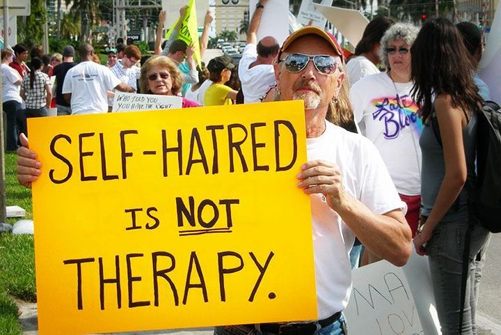 Conversion Therapy Teaches Victims Self-Loathing