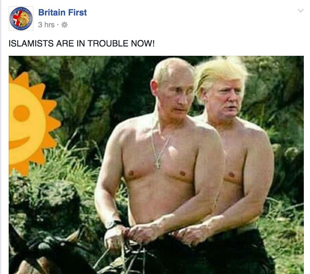Britain First Are Drunk And Using