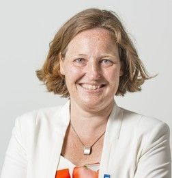 <em>Astrid Madsen, Manager of District</em> <em>Heating and Cooling System.</em>