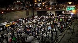 Anti-Trump Protests Spread Around
