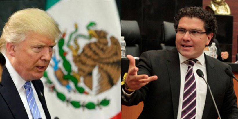 Right: Mexican Senator Armando Ríos Piter