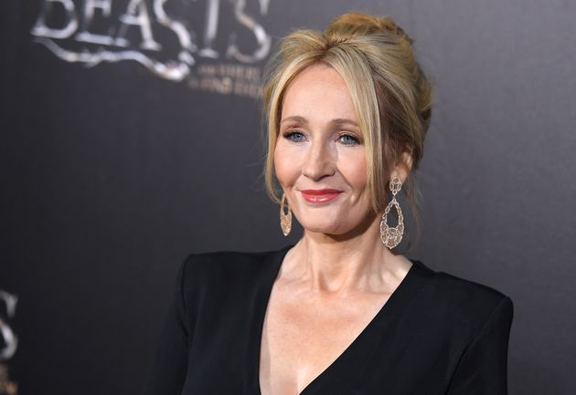 J.K. Rowling at the'Fantastic Beasts And Where To Find Them' world