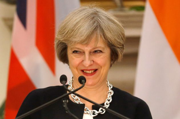 Theresa May has been criticised for her warm congratulations to