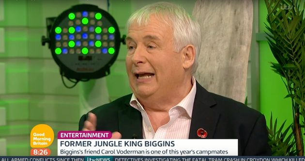 Christopher Biggins appeared on 'Good Morning