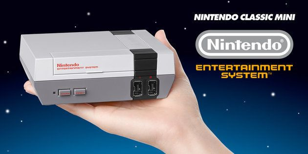 Retro Gamers Rejoice – The New Nintendo NES Goes On Sale