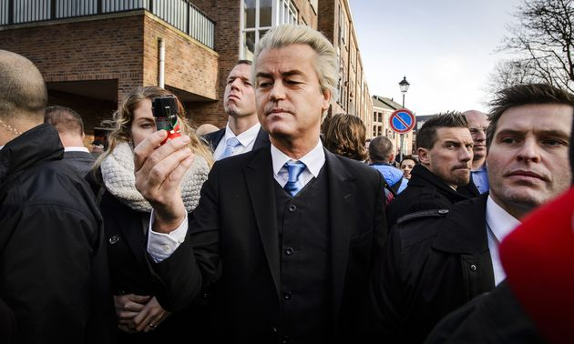 Dutch populist far-right Party for Freedom leader Geert