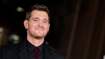 Michael Buble presents 'Tour Stop 148' during the 11th Rome Film Festival at Auditorium Parco Della Musica on October 14, 2016 in Rome, Italy.  (Photo by Massimo Valicchia/NurPhoto via Getty Images)