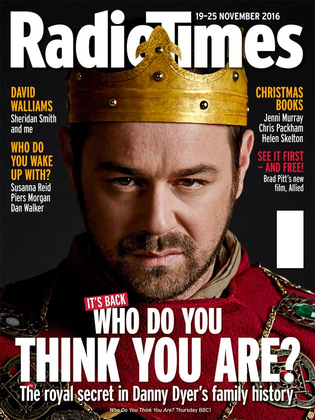 Danny is this week's Radio Times cover