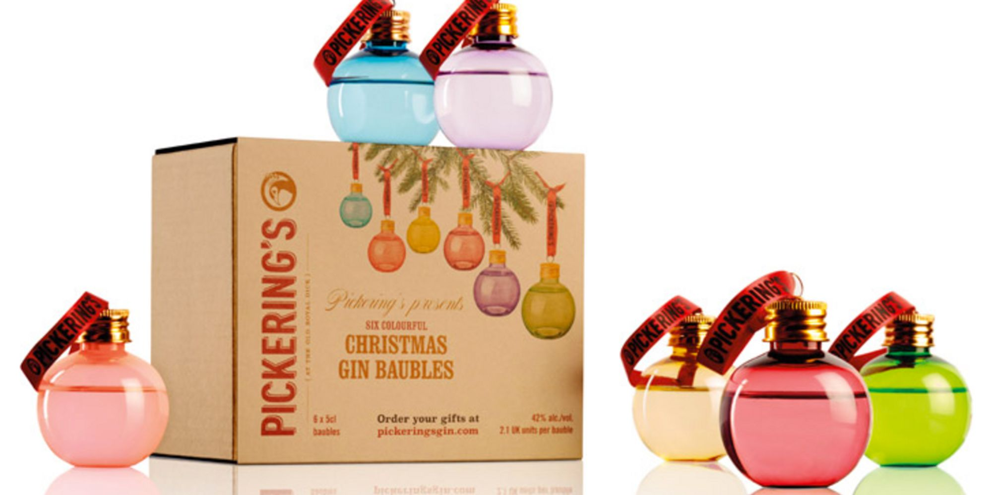 Gin-Filled Baubles Are The Only Decoration You Need This