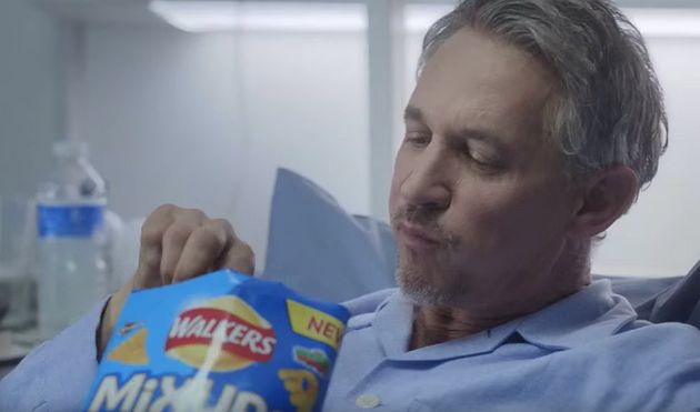 Lineker has appeared in many adverts and promotions for Walkers