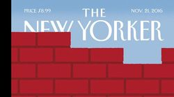Up Goes The Wall: New Yorker Cover Nails Donald Trump-Induced