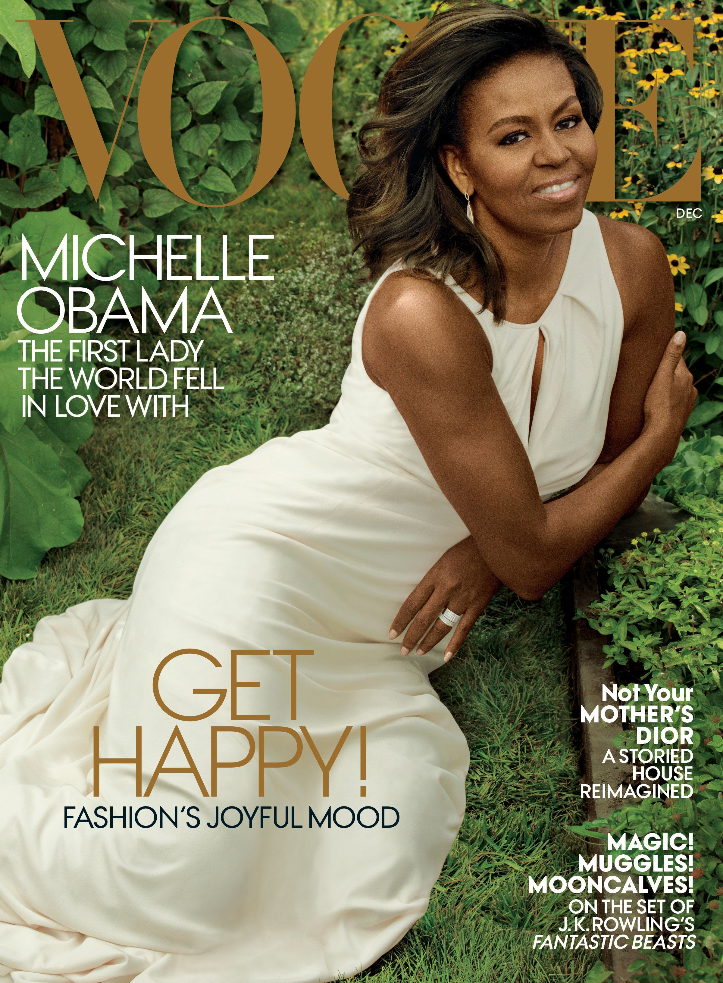 Michelle Obama's December 2016 Vogue cover: More of this, please.