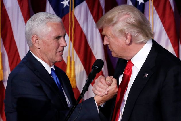 President-Elect Trump Names Pence To Lead Transition Team