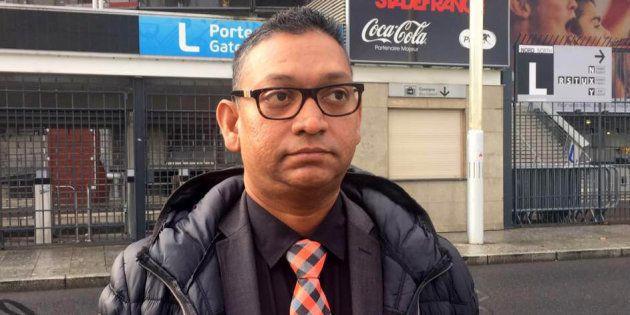 Salim Toorabally was guarding the Stade de France on Nov. 13, 2015, when he preventeda man involved in theParis a