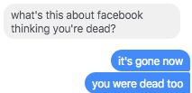 Facebook、一時的に大量のユーザーを死に追いやる