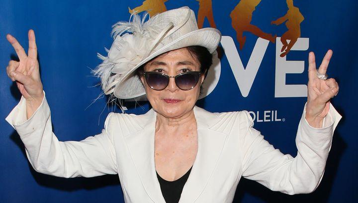 """We out"" - Yoko Ono, probably"