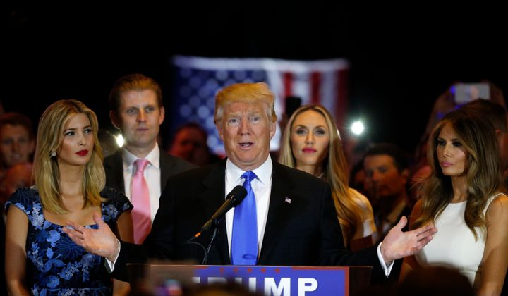 Trump Kids To Run Business While On Transition Team | HuffPost