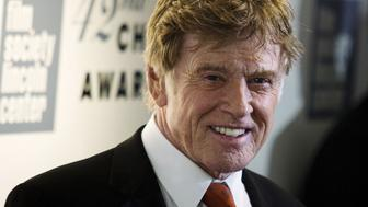 Actor Robert Redford arrives to attend the Chaplin award at Alice Tully Hall in New York April 27, 2015. REUTERS/Eduardo Munoz