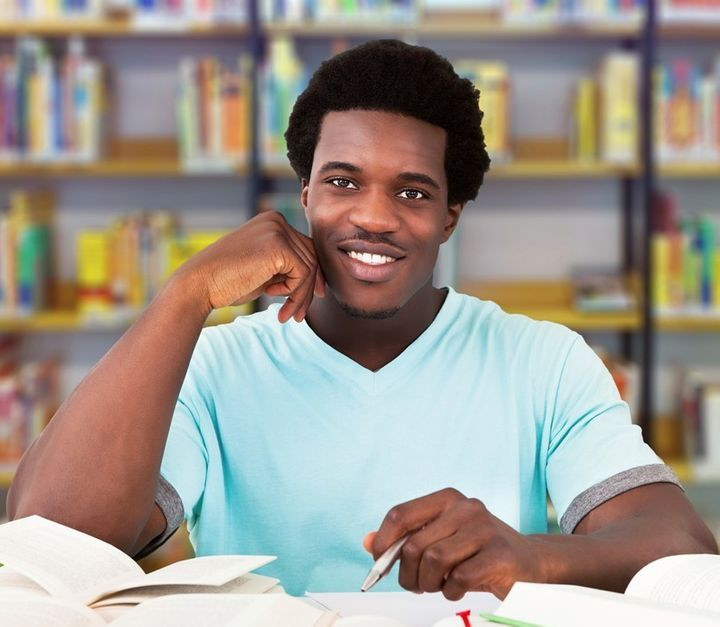 African American Male Student - Young African Man Studying In University