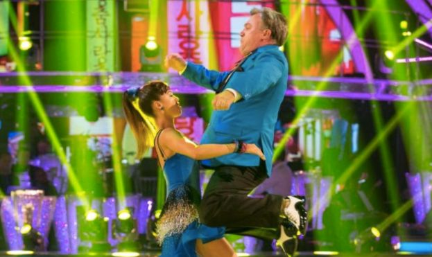 Ed Balls has also received a nod for this 'Strictly Come Dancing'