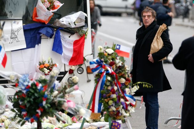 Jules Frutos, pictured following the attacks on Nov 13, 2015, said Jesse Hughes and his manager were...