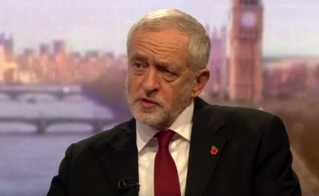 Jeremy Corbyn Says Nato Should 'Demilitarise' Its Border With Putin's
