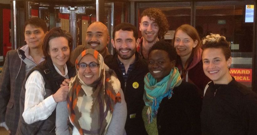 Staff Members, Board Members, and Volunteers from CLAGS: The Center for LGBTQ Studies at the City University of New York