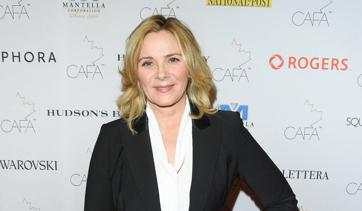 "Kim Cattrall is crossing her fingers for a ""SATC"" spinoff."
