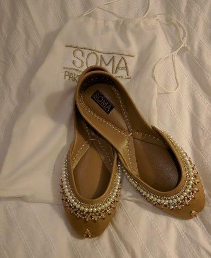 <em>Versatile shoes for slippers or dress up</em>
