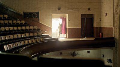The interior of the Alfred Talkies between screenings