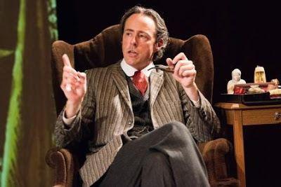 Michael Monagle as Sherlock Holmes in<em><strong>Baker Street</strong></em>