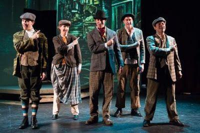 The Baker Street Irregulars in a scene from<strong><em>Baker Street</em></strong>