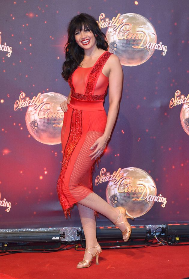 Daisy Lowe at this year's 'Strictly'