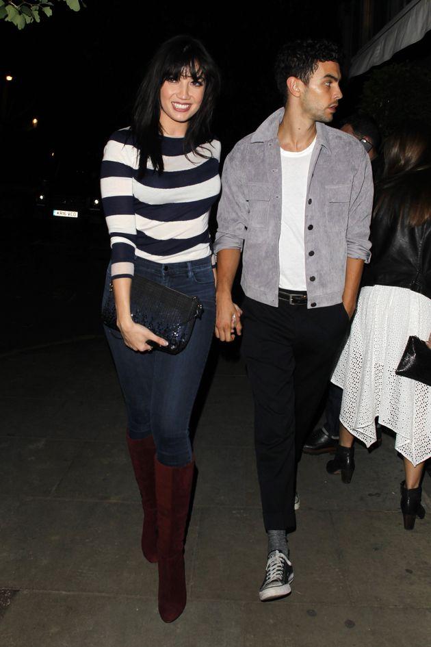 Daisy and ex-boyfriend Frankie